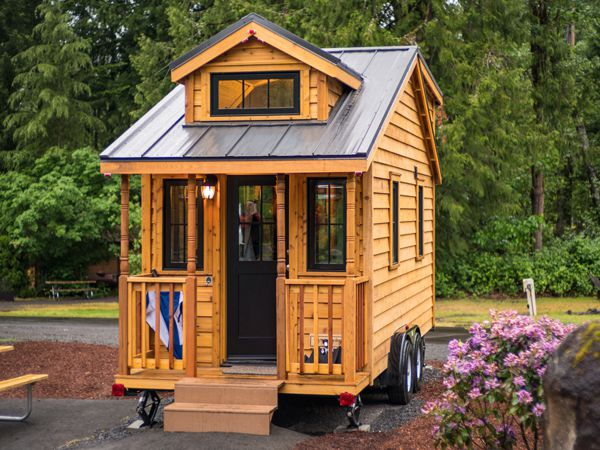 Tiny houses at mt hood village oregon for Tiny house pictures and plans