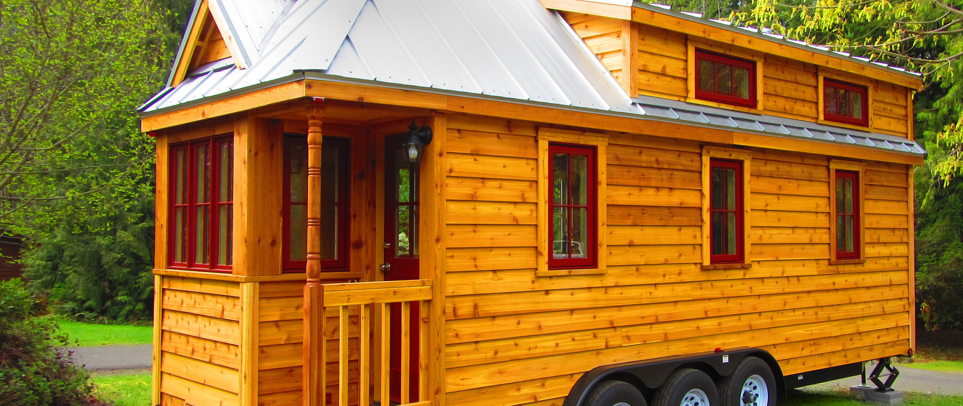 Lincoln Tiny House at Mt. Hood Tiny House Village